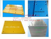 chemical resistant fender panel/ marine facing pads/ PE-UHMW port fenders