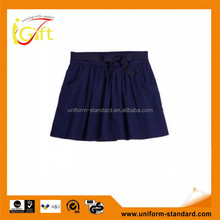 Wholesale top grade school uniform mid length skirts