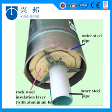 underground steam pipe insulation with calcium silicate material wrapped steam pipe insulation for 350deg C steam