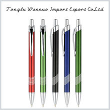 Factory manufacture promotional metal ball pen set