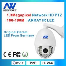 Outdoor PTZ High Speed Mini Camera IR180m IP66 FCC,CE,ROHS Certificate(AW-73PT)