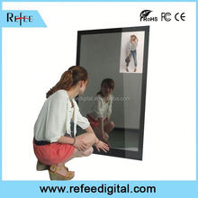 32inch hotel washroom Digital Signage Solution,bar end mirrors,magic mirror display advertising