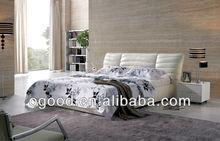 luxury white king size leather sofa bed