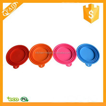 Varying Colors Wholesale Silicone Portable Novelty Pet Dog Bowl