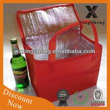 Fancy promotion beer cooler bag heat preservation bag with high quality wholesale