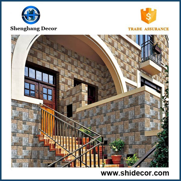 30x60 building material exterior ceramic wall tile ceramic for Exterior wall construction materials