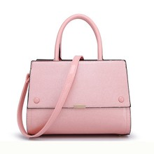 2015 high quality hard bag, patent pu leather bag sale
