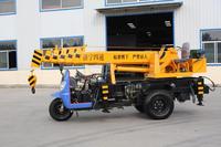 Small hydraulic truck crane, new feature truck cargo crane for sale