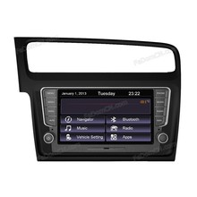 2 din car dvd player with radio/gps navigation for VW Golf 7