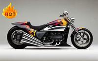 gas racing motorcycle