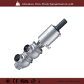 sanitarias válvula deinversión de aceroinoxidable neumático válvula de retención de alimentos de grado farmacéutico para bebidas