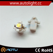 White T5 B8.4D 5050 1SMD LED For Dash Gauge Instrument LED