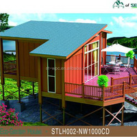rotproof wooden professional anti aging portable bunk houses