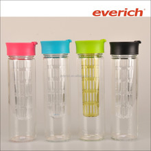 500ml Single Wall Glass Ware With AS Infuser And PP Lid