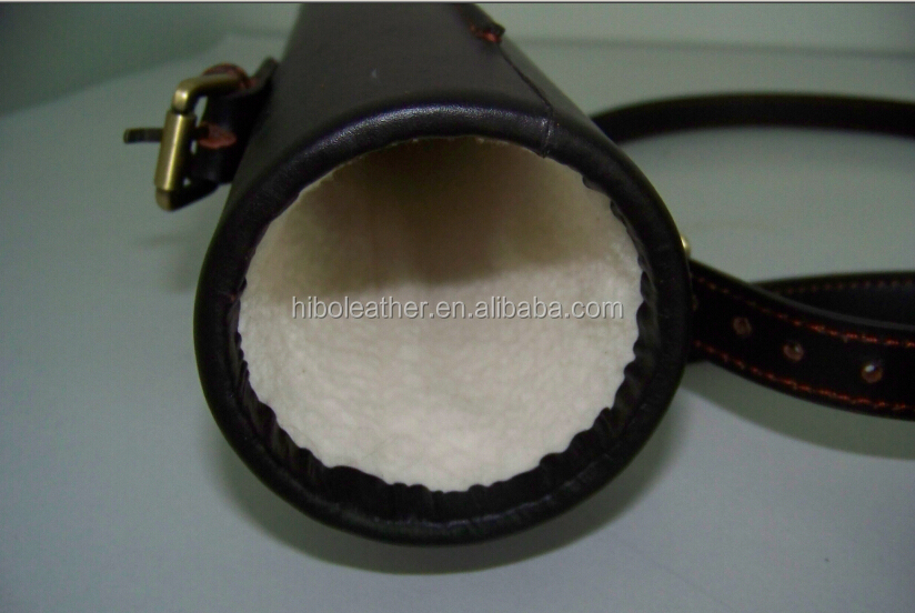 Genuine leather thermal telescope cover guangzhou manufacturers
