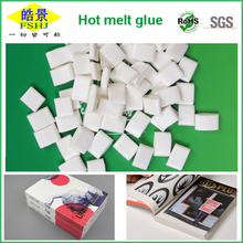 EVA Hot Melt Adhesive book binding glue of China Price Bostik Quality