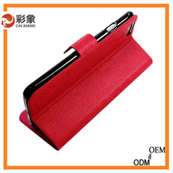 2015 Hot selling red color credit card slot case for iphone 5c