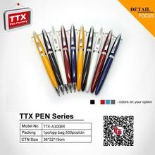 Set Cheap Pen Gift Promotional Wholesale Twist metal pen
