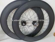 ud mat 88mm fixed gear roues carbone 700C avec 20/24 trous
