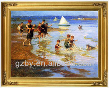 Impression Oil Painting Adult Baby Pictures