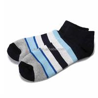 fashion thin men striped ankle socks