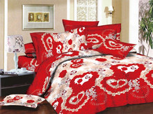 Luxury 3d Printed Used Bedsheets best sell home textile 100% polyester printing fabric 3d disperse bedsheet