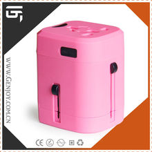 Genjoy wholesale Promation gift Item on Duty free shop CE/ROHS multi travel adapter