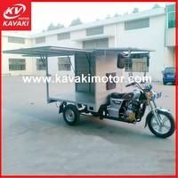 cargo Nigeria 150cc closed cabin 6-passenger bajaj tuk tuk 3 wheel tricycle with CCC