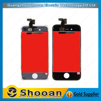 cherry mobile phone parts cell phone touch screen for iphone 4 with screen digitizer