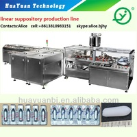 Pharmaceutical Suppository production line/suppository machine/suppository filling system