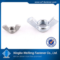 wing nut dimensions SS304/316 carbon steel China manufacturers & suppliers exporters Nut