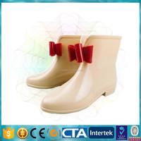 waterproof fashion girl rain shoes