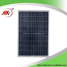Aike 65w OEM Poly crystalline solar panel 65w best price