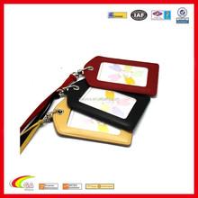 New Credit Card Holder Case/Neck Strap Leather Business Men Women