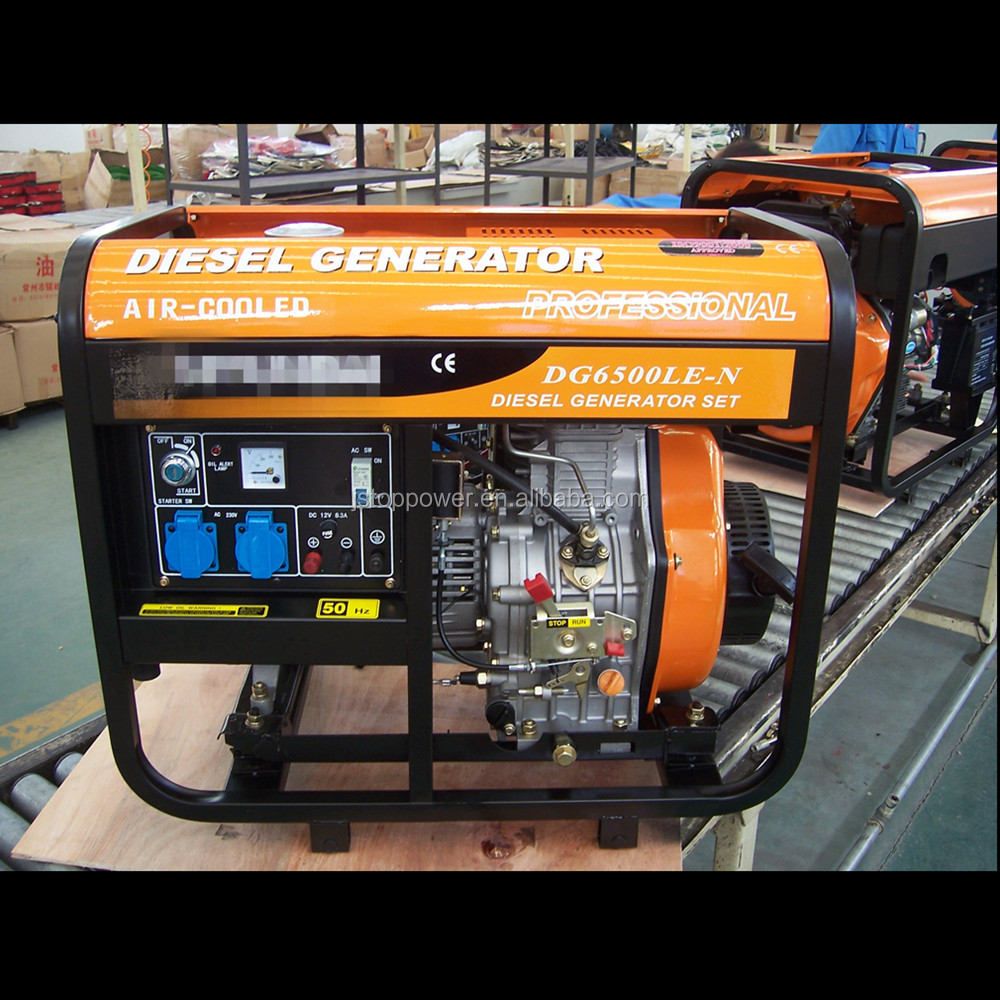 Topor Brushless Dc Motors China Cheap 5kw Diesel Generator