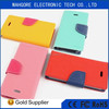 Mercury mobile phone leather case flip cover wallet case for samsung GALAXY J1/J100 flip case many color