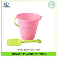 Plastic Beach Bucket With Shovel