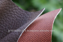 PVC / PU OEM LEATHER seat cover for making household furniture such as chairs and sofas Made in Japan