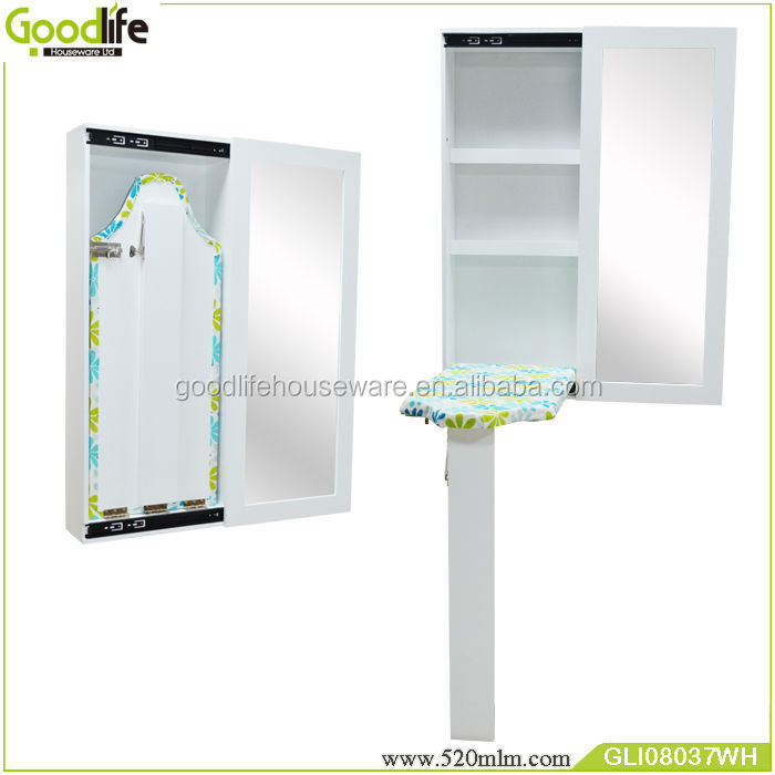GLI08037china wall mount ironing board with mirror Cabinet