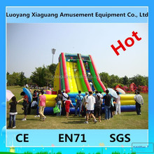 Outdoor giant amusement funny games inflatable slip n slide