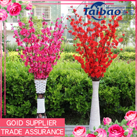 Tianjin factory wholesale cheap artificial cherry blossom branch for making trees