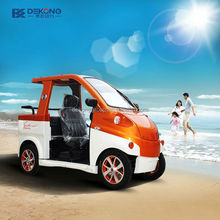 energy saving cheap cost 3 seats battery operated electric vehicle