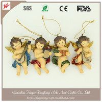 Factory OEM Design Resin Angel Lighted Angel Outdoor Christmas Decorations