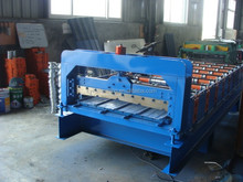Aluminum tile cold roll forming machine