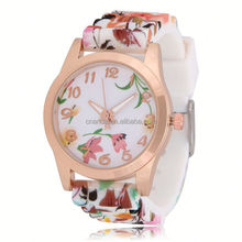 pearl bracelet watch, no.607 watch silicone for children