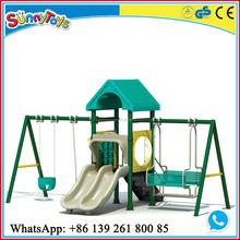 guangzhou playground plastic toys swing playground