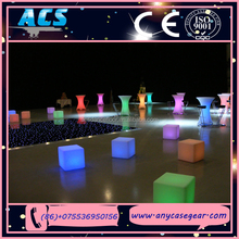 ACS led lighted plastic ice cube for party /events/bar for sale