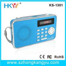 Automatic Channel Search Portable FM USB Radio