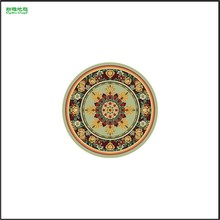 Embroidered Decorative Carpet with Classical Design