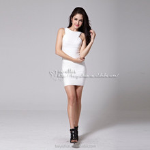 New sexy woman sleeveless fashion party clubwear black slim ODM/OEM/WHOLESALE evening dress in-alles new arrival